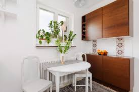 stylish ideas dining table for studio apartment design modern