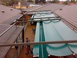 Homemade Retractable Awning Perfect Everyday Sun Sensor Retractable Roofs Yarra Shade Co