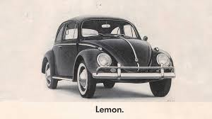 first volkswagen ever made how volkswagen just squandered 55 years of great advertising u2013 adweek