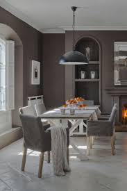 Esszimmer Modern Weiss Taupe Wandfarbe Edle Kulisse Für Möbel Und Accessoires