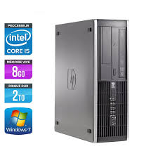 pc bureau reconditionné hp elite 8100 sff ordinateur reconditionné i5 trade discount