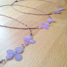 flower necklace wedding images Pressed flower wedding jewelry bouquet preservation impressed by jpg