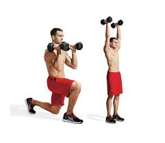 the best two dumbbell workout men u0027s fitness