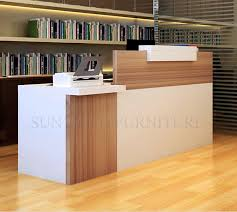 Simple Reception Desk Simple Modern Front Desk Counter Office Reception Counter Design