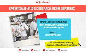 salaire apprenti cap cuisine apprentissage plus de 3 000 places à saisir région île de