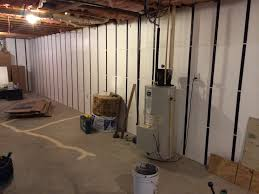 Spray Foam Insulation For Basement Walls by Cool Insulating Basement Walls With Spray Foam Interior Design