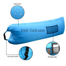 Sofa Bed Inflatable by Hangout Chair Air Sofa Bag Outdoor Camping Sleeping Lazy Sofa Bed