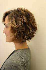 curly and short haircut showing back best 25 wavy bob haircuts ideas on pinterest wavy bob hair
