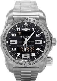 breitling titanium bracelet images E7632522 bc02 159e breitling emergency ii mens digital analog jpg