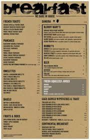 46 creative restaurant menus designs restaurant menu design