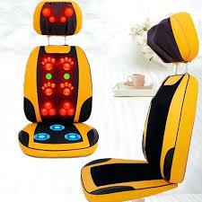 massaging chair pad electric open back massage device sofa machine
