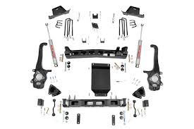 nissan titan quick lift country 6in suspension lift kit 04 15 nissan titan
