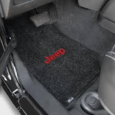 jeep wrangler mats wrangler floor mats 2 lloyd ultimat with jeep logo