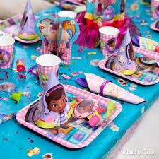 doc mcstuffins party table idea party
