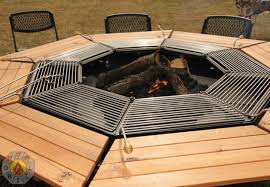 Table Firepit The Ultimate Pit Bbq And Table Combo Grill 1001 Gardens