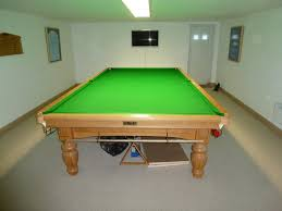 room size for full size snooker table table designs