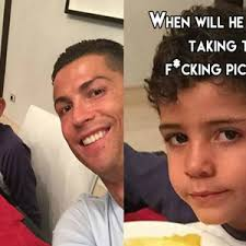 Cristiano Ronaldo Meme - cristiano ronaldo takes selfie with his son by negergoose meme