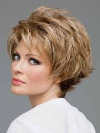 wigs for women over 50 with thinning hair short face flattering bob with feathered layers and wispy ends