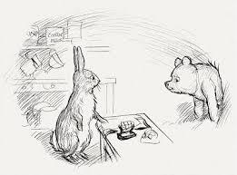 bibliodyssey original winnie pooh drawings