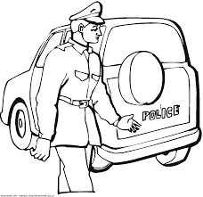spectacular cars printable coloring pages with police car coloring