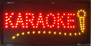 ultra bright led neon light animated led karaoke signs neon