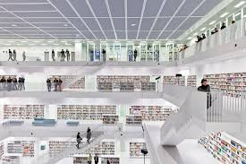 bibliotheken stuttgart katalog stadtbibliothek stuttgart glas bildung baunetz wissen