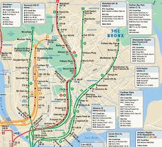 Nyc Subway Map App by Subway Map Bronx My Blog