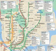 Ny Metro Map Subway Map Bronx My Blog