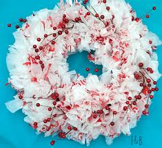 plastic bag wreath holidays craft and wreaths