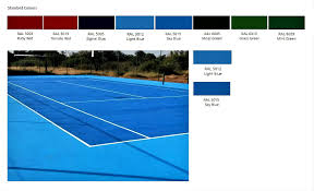 tennis and netball court paint midas earthcote paints tygervalley
