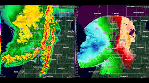 Radar Map Of Michigan by May 31 1998 Derecho From The Grand Rapids Michigan Radar Youtube