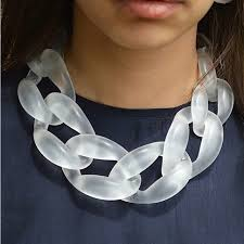 resin statement necklace images Resin jewelry statement necklace fashion punk big acrylic chain jpg