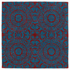 Peacock Area Rugs Kaleen Evolution Peacock 5 Ft 9 In X 5 Ft 9 In Square Area Rug