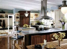 Cape Cod Kitchen Ideas by Brookhaven Cabinetry Designer Collection Including Wood Mode