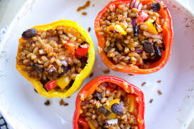 cooking light vegan recipes stuffed bell peppers the life eclectic