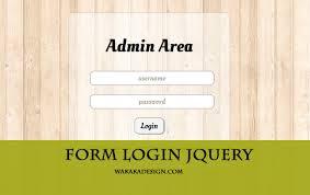 cara membuat halaman utama web dengan php membuat form login dengan php jquery css3 download tutorial
