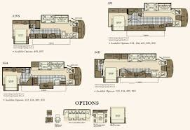 5th Wheel Camper Floor Plans by Class A Rv Floor Plans U2013 Gurus Floor