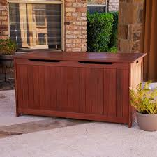 Outdoor Bench With Storage Classic Outdoor Cushion Storage Bench U2014 Bistrodre Porch And