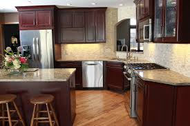 Diy Kitchen Remodel Ideas Terrible Diy Kitchen Remodel With Hving Dark Brown Finish Pleasant