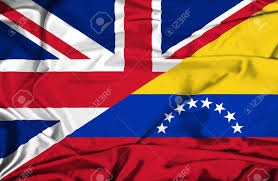 Flag Venezuela Waving Flag Of Venezuela And Uk Stock Photo Picture And Royalty