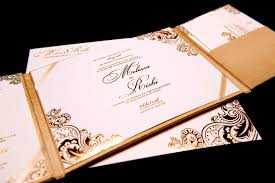 gold foil wedding invitations wedding invitations gold foil sted