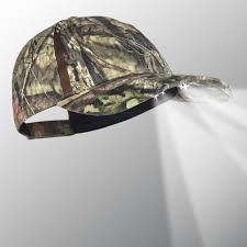 powercap 25 10 camo blaze led lighted hats mossy oak country for
