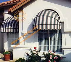 Awning Supplier Aluminum Manual Retractable Decorative Dome Window Awning