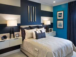 Master Bedroom Ideas With Wallpaper Accent Wall Bedroom With Purple Accent Wall Wall Mounted White Wooden
