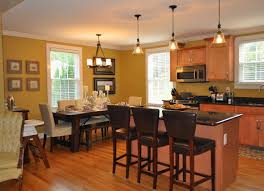 open plan kitchen diner ideas lighting best lighting in kitchen diner engrossing favored ideal