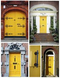 exterior door house appeal bold energy the brilliant yellow idolza