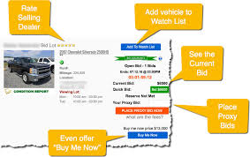 auto bid auction open bid auto auction software