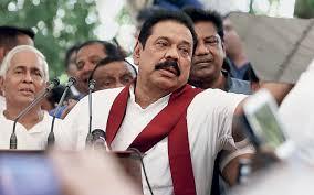 Mahinda Rajapksha Sri Lanka U0027s Defeated Former President Mahinda Rajapaksa Attempts A