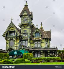 queen anne victorian eureka ca aug 7 2013 carson stock photo 526755547 shutterstock