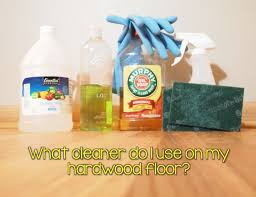 what cleaner do i use on my hardwood floor accent